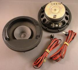 Dashboard luidsprekerset Opel Corsa-A MY91 vanaf 1991 = GM 1780914 = 90397231