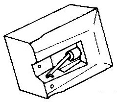 Audio Technica ATN-3400 pick-upnaald