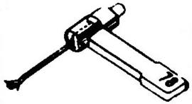 Allphon 66 pick-upnaald = Tonar 306 Saffier Normaal 78-Toeren / Diamant Stereo