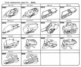 Overige typen elementen Dual: Tonar-vervangers
