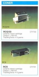 Overige typen Coner: MicroMel-vervangers
