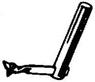 Webster Electric WE14-15 pick-upnaald = Tonar 230 Diamant Stereo