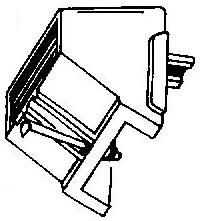 CEC ATN750 zwart pick-upnaald = Tonar 866 Diamant Stereo