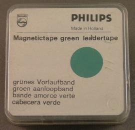 Philips LT-20 bandrecorder aanloopband groen