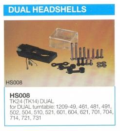 Dual headshells overzicht MicroMel