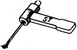BSR ST5 pick-upnaald = Tonar 51 Diamant Stereo / Diamant Stereo