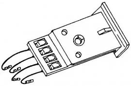 BSR BDS90 A-111875 headshell = Tonar 3097