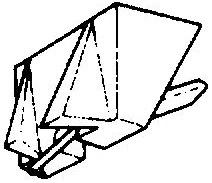 Nagaoka NM-66 grijs pick-upnaald = Tonar 447 Diamant Elliptisch