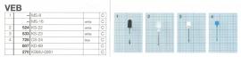 Overige typen VEB: MicroMel-vervangers