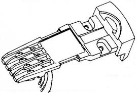 Dual O-12 B headshell