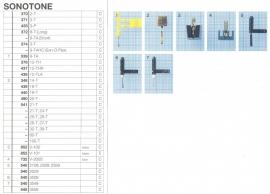 Overige typen Sonotone: MicroMel-vervangers