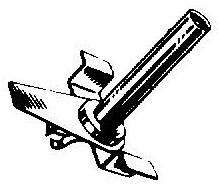 Bang & Olufsen 72 pick-upnaald = Tonar 44 Saffier Normaal 78-Toeren / Diamant Stereo