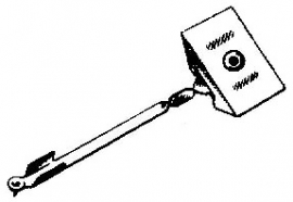 Eden Stereo pick-upnaald = Tonar 70 Diamant Stereo