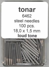 Stalen naald loud tone 18.0 mm / 1.5 mm doosje 100 stuks
