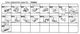 Overige typen Tensai: Tonar-vervangers