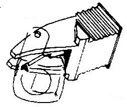 Dual platenspeler pick-upnaalden