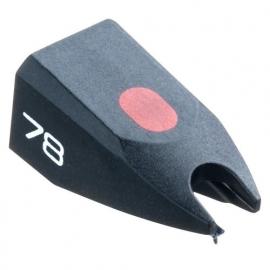 Ortofon Stylus 78 zwart pick-upnaald = Tonar 1558 Diamant Normaal 78-Toeren