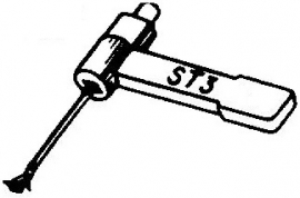 BSR ST3 pick-upnaald = Tonar 50 Saffier Stereo / Diamant Stereo