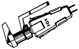 Ronette DC284 MONO kristal pick-upelement