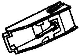 Kenwood N71 zwart pick-upnaald = Tonar 6291 Diamant Stereo ORIGINEEL