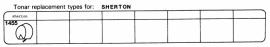 Overige typen Sherton: Tonar-vervangers