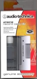 Audio-Technica AT6012 fluwelen platenborstel en schoonmaakvloeistof set