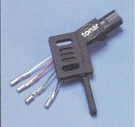 ADC1600 / ADC-type (v) headshell rechte arm C-114864 = Tonar 3146