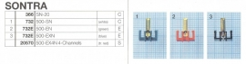 Overige typen Sontra: MicroMel-vervangers