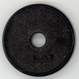 Akai single 45-toeren adapter = ORIGINEEL