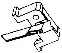 Shure N70 3 M70 72 Series 78-Toeren pick-upnaald = Tonar 1098 copy