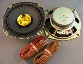 Inbouwluidsprekerset 40 watt achter voor Opel Astra-F = GM 1780921 = 90397369