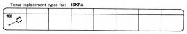 Overige typen Iskra: Tonar-vervangers