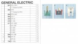 Overige typen General Electric: MicroMel-vervangers