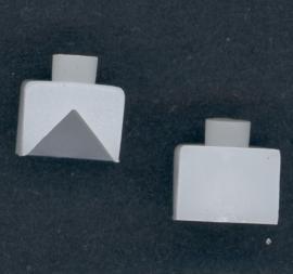 Lenco V-armlager kunststof voor B55-L75-L76-L77-L78 setje 2 stuks