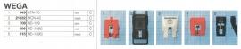 Overige typen Wega: MicroMel-vervangers