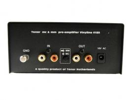 Tonar Vinyline MC/MM platenspeler voorversterker (met 220 volt PS)