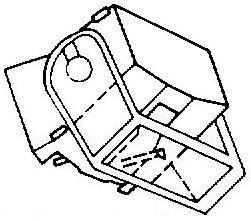 Dual DN-105 zwart Soundburger pick-upnaald ORIGINEEL= Tonar 1529 Diamant Stereo ORIGINEEL