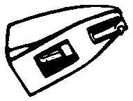 Aiwa Stylus 5 zwart pick-upnaald = Tonar 1319 Diamant Stereo copy