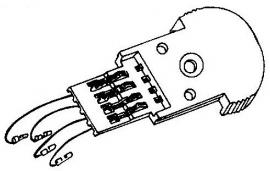 BSR A-112016 headshell = Tonar 3098