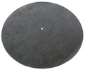 Tonar Black Leather Player Mat / draaitafel/platenspeler-mat