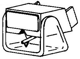 AKG X7E pick-upnaald ORIGINEEL