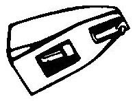 Thorens D-200 E - M-200 E zwart pick-upnaald = Tonar 1320