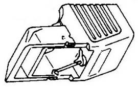 Acutex 310 III oranje pick-upnaald = Tonar 6217