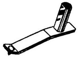 Astatic N-31 - K pick-upnaald