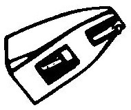 Ortofon Stylus 10 zwart pick-upnaald Diamant Elliptisch COPY