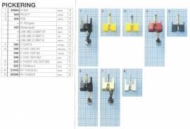 Overige typen Pickering: MicroMel-vervangers