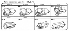 Overige typen elementen UOP`s: Tonar-vervangers