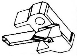 Shure N75 3 M75 Series 78-Toeren pick-upnaald = Tonar 1064