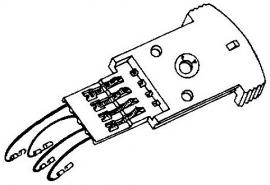 BSR A-113696 headshell = Tonar 3099