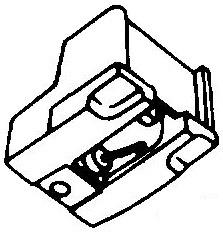 Audio Technica ATN-71 - AT-71 pick-upnaald